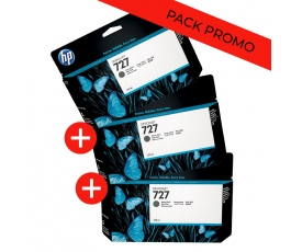 Pack 3 cartouches B3P22A...