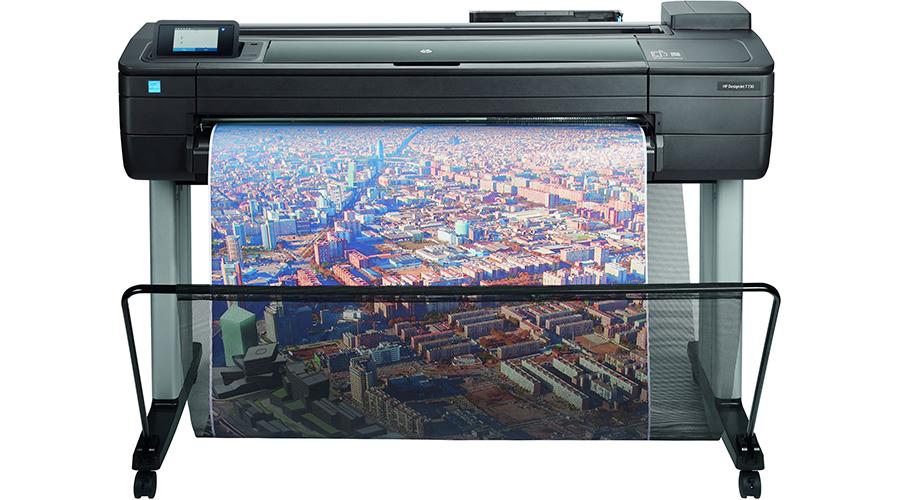 Traceur HP DesignJet T730 – Matériel grand format